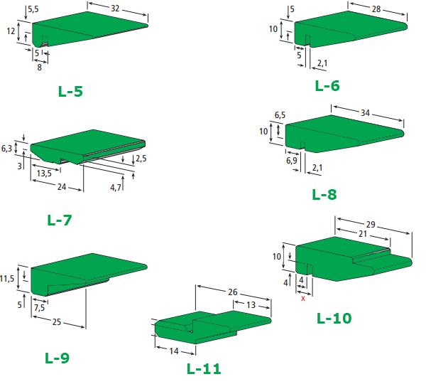 Sürtünme Profili polietilen 1000 Sürtünme profilleri polietilen aşınma kızakları konveyör aşınma bantları konveyör sürtünme profilleri